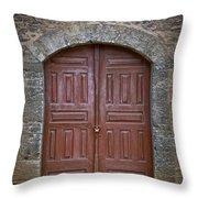 Mosque Doors 11 Throw Pillow