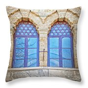 Mosque Windows 3 Throw Pillow