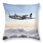 Mosquito Aircraft Throw Pillow