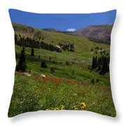 Mosquito Blooms Throw Pillow