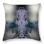 Moss Thing Throw Pillow