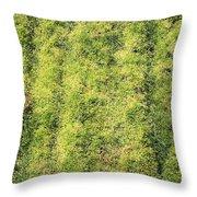 Mossy Grass Throw Pillow