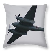 Mossy In Flight Throw Pillow