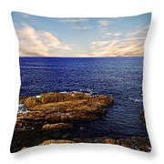Mossy Point 2 Throw Pillow