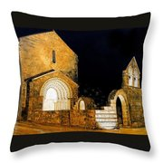 Mosteiro De Ferreira Throw Pillow