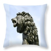 Mostly Mane Throw Pillow