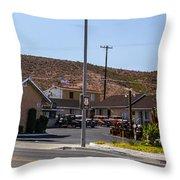 Motel 4 Throw Pillow