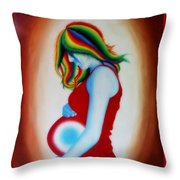 Mother - Life Within Life Throw Pillow