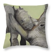 Mother And Baby 1 Throw Pillow