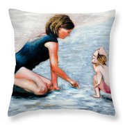 Mother And Child 1 Throw Pillow