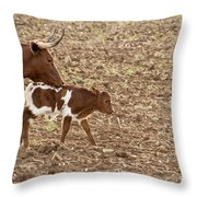 Mother And Child V5 Throw Pillow