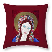 Mother Knows Best Throw Pillow