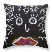 Mother Natural Throw Pillow
