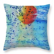 Mother Nature At Her Best  Throw Pillow