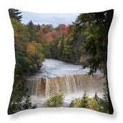Mother Nature's Canvas Throw Pillow