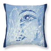 Mother Of Nature Throw Pillow