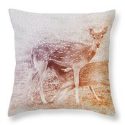 Motherhood Throw Pillow