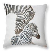 Motherly Love Throw Pillow