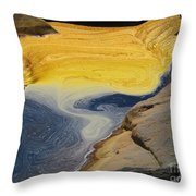 Mothers Abstract 11 Throw Pillow