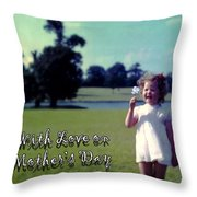 Mother's Day 1964 Throw Pillow