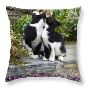 Mother's Day Card Throw Pillow