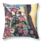 Mothers Day Gift Throw Pillow