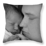 Mother's Love Throw Pillow by Kelly Hazel