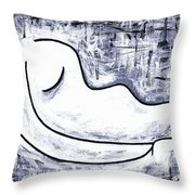 Mother's Lullaby Throw Pillow by Kamil Swiatek