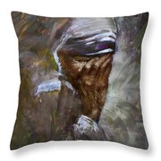 Mother's Pain Throw Pillow