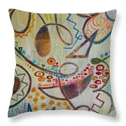 Mother's Room Throw Pillow