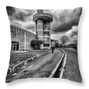 Motherwell Heritage Centre Throw Pillow by John Farnan