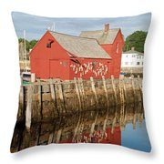 Motif 1 With Reflection Throw Pillow