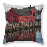 Motifs Long Reflection Throw Pillow