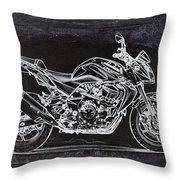 Moto Art 41 Throw Pillow