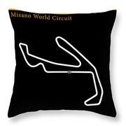Moto Gp San Marino Throw Pillow