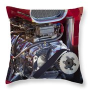 Motor Throw Pillow