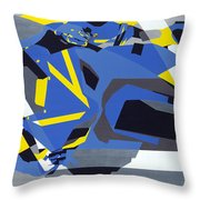 Motorbike 1 Throw Pillow
