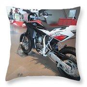 Motorbikes 1 Throw Pillow