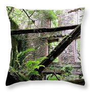 Moulin Aux Orties Throw Pillow