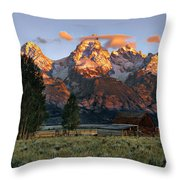 Moulton Barn 2 Throw Pillow