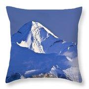 Mount Aylmer, Viewed From Sulphur Throw Pillow