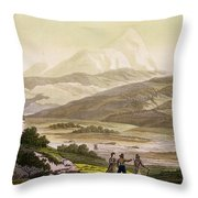 Mount Cayambe, Ecuador, From Le Costume Throw Pillow
