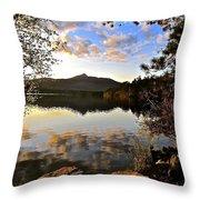 Mount Chocorua At Dusk Throw Pillow