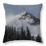 Mount Crested Butte 3 Throw Pillow