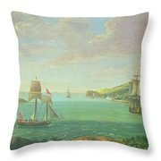 Mount Edgcumbe Throw Pillow