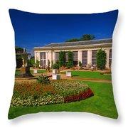 Mount Edgcumbe Orangery Throw Pillow