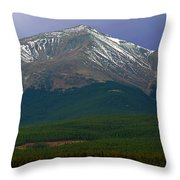 Mount Elbert Throw Pillow