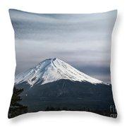 Mount Fuji Japan Throw Pillow