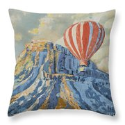 Mount Garfield  Throw Pillow