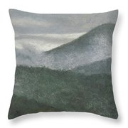 Mount Judea Throw Pillow